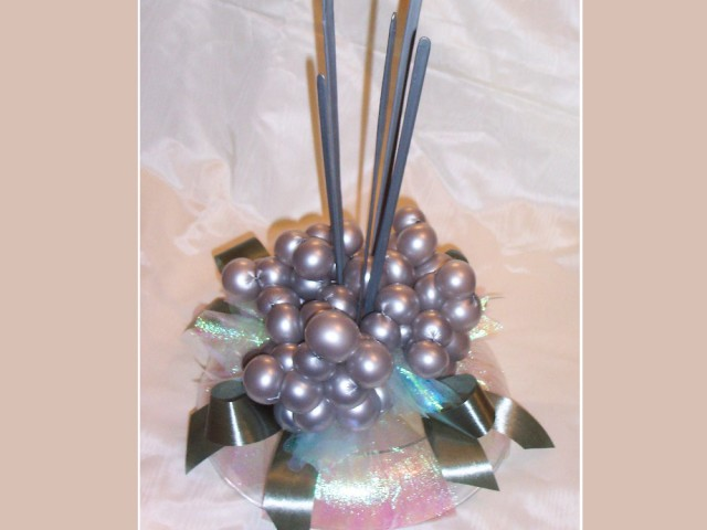 Contemporary Spikes: Table Centerpiece