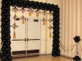 Elegant Black Entrance Arch: NACE Table-Top Wow